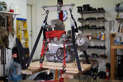 1974 Ducati 750 GT Restoration - 2018.11.25