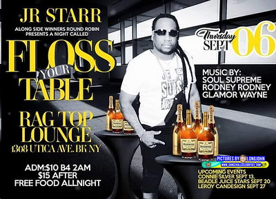 """JR STARR """"FLOSS YOUR TABLE""""(10)"""
