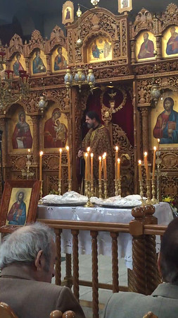 12.13.15 St. Andrew, Sermon by Father Theodore