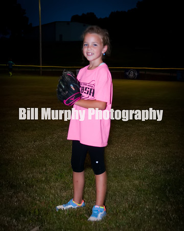 2016 Fall Ball 5-7 Pink Softball Team
