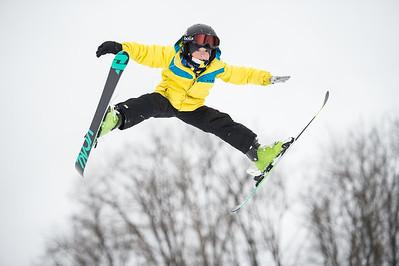 Snow Snake Random Skiers, 1-17-15