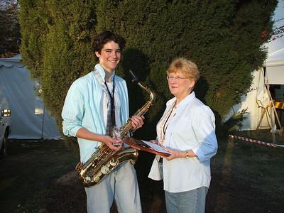 9/9/07 Jazz Award Winner