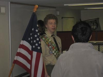 Troop Meeting - Nov 29