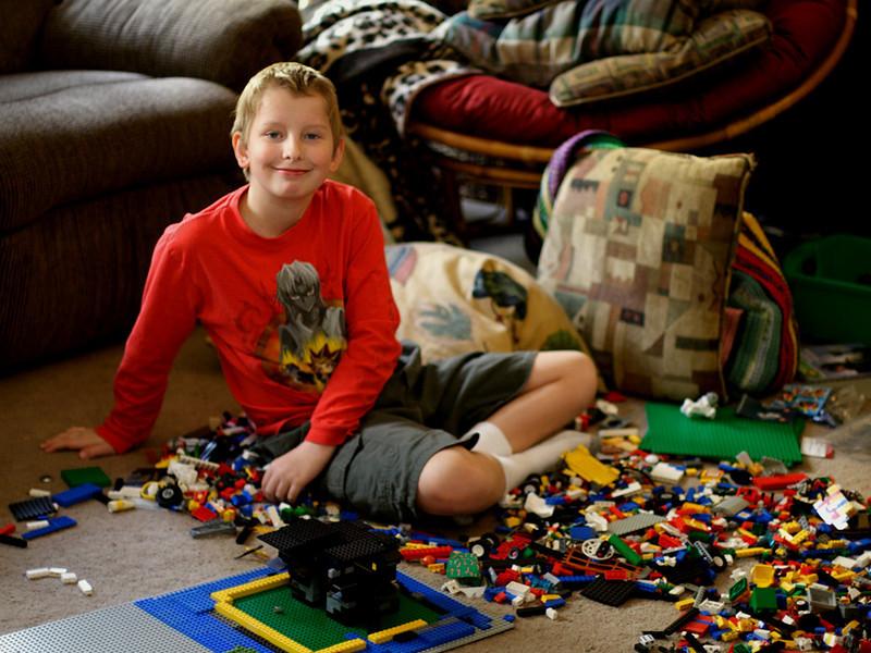 Joshua, almost 10.  November 2005