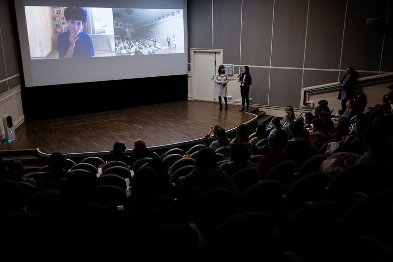 Deutsche Woche at Angleterre Cinema. Saint Petersburg, 2021.