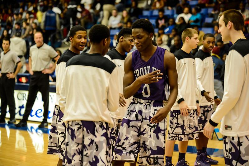 Basketball Varsity vs  Crowley 12-11-13-15