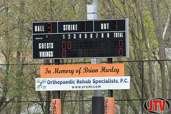 Baseball Charlotte at Jackson High School for 04-10-2021.