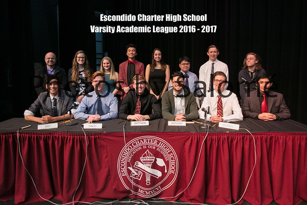 Varsity Academic League Team