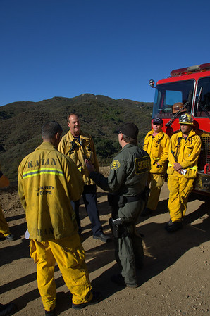 Joint LACoFD/MSAR Over the Side Training 10-13-12