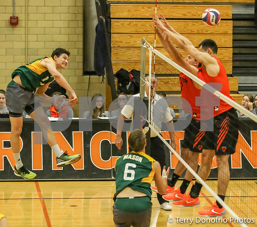 Princeton Men's Volleyball vs Mason 030516