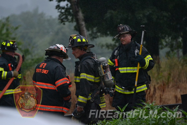 Luzerne County - Hazleton City - Camper / Building Fire - 7/20/2012