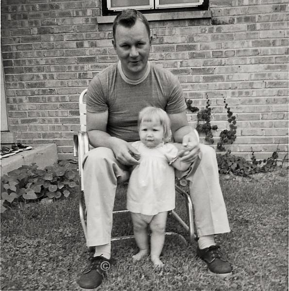 DAD & LYNN JULY 19,1958