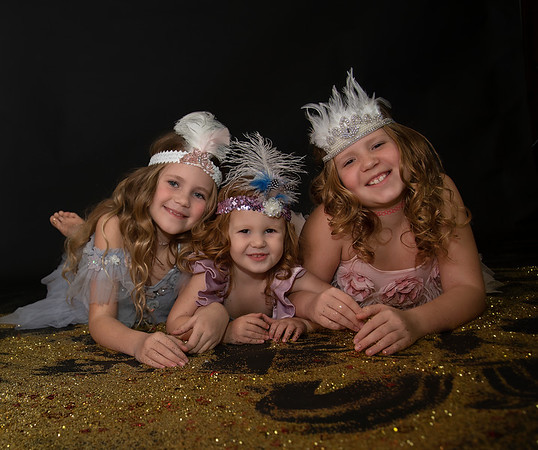 The McLellan Babies Glitter Session