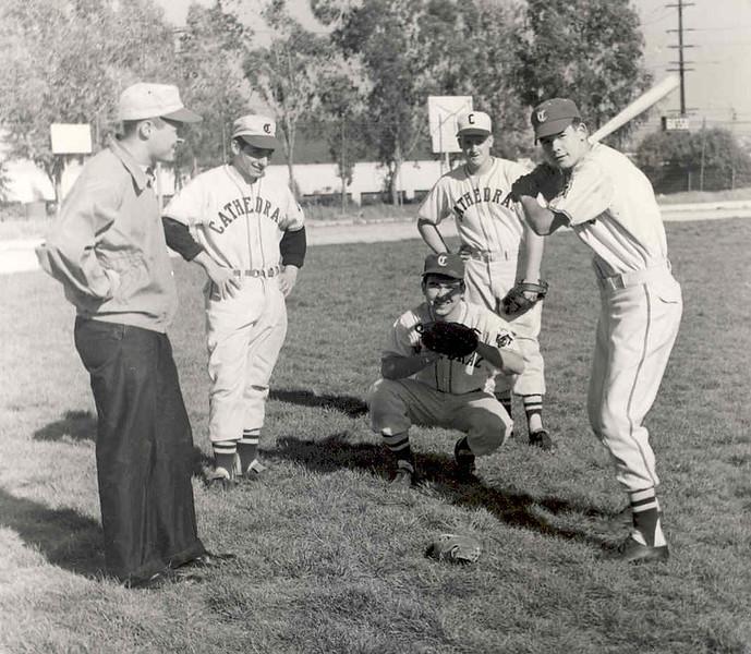 1957, Baseball Practice