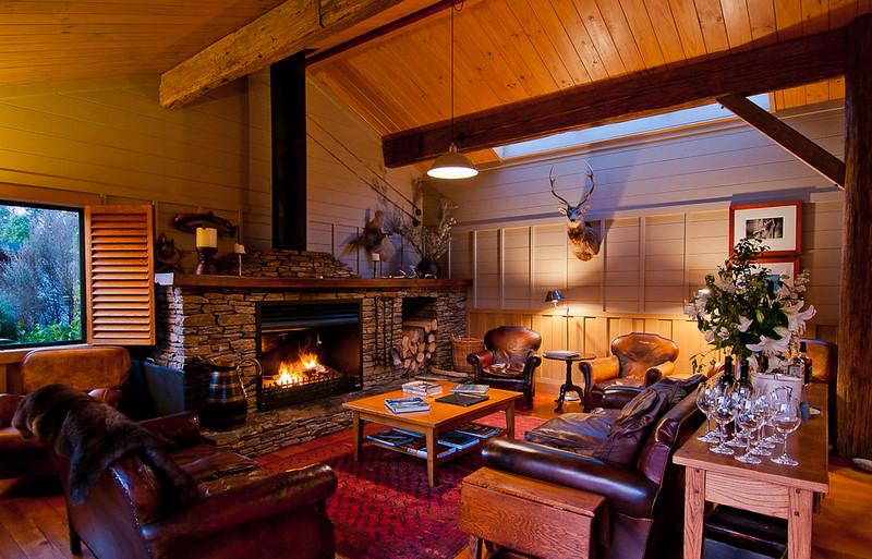 Poronui Ranch lodge, North Island, New Zealand