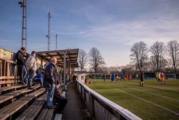 Hitchin Town v Banbury United
