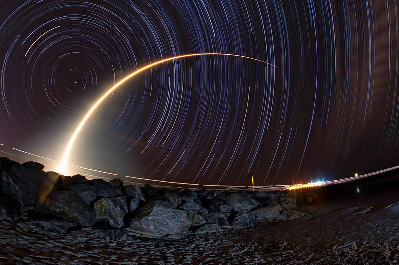 Falcon 9 Lofts Merah Putih Indonesian Satellite