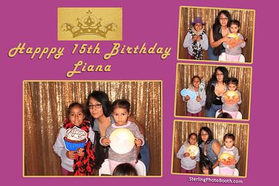 Happy 15th Birthday Liana