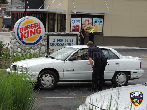 Disturbance at Burger King on August 4, 2014