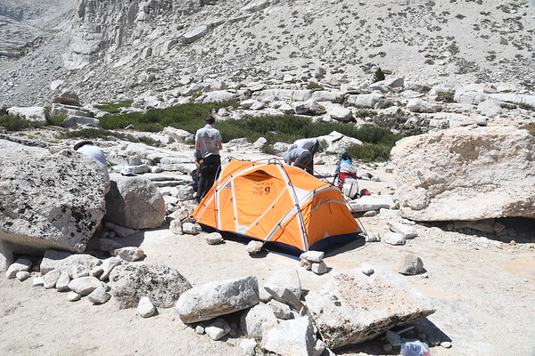 Mt. Whitney Mountaineers Route Aug 5-6, 2021