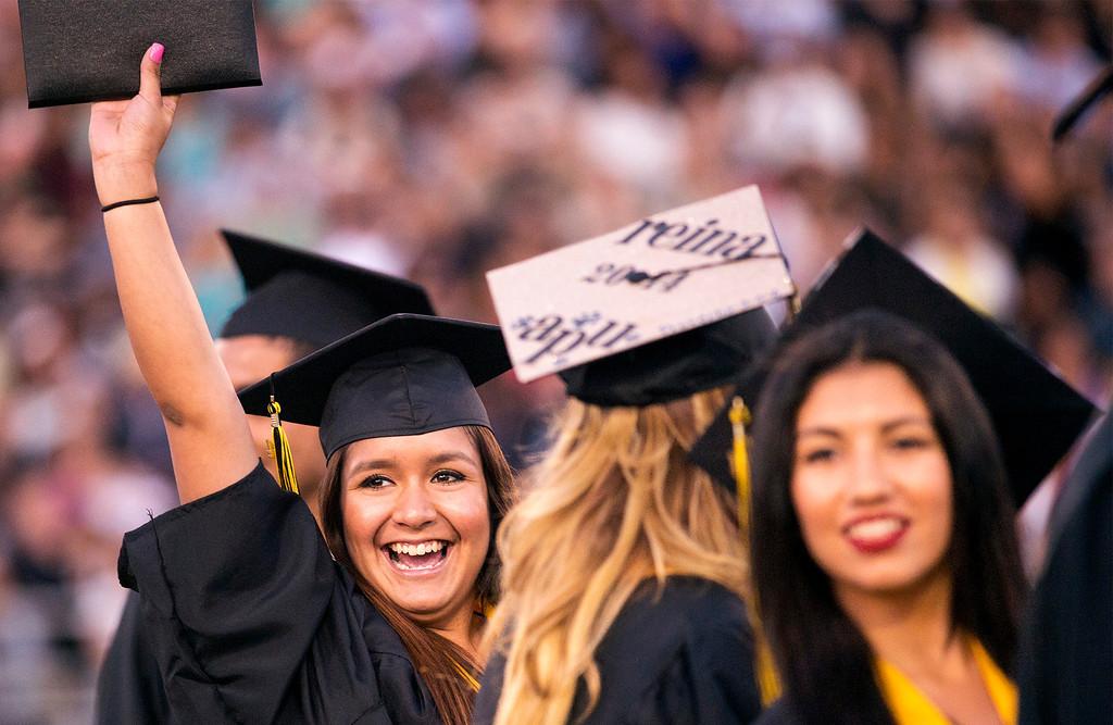 . Northview High graduation ceremony at Covina District Field June 11, 2014.   (Staff photo by Leo Jarzomb/San Gabriel Valley Tribune)