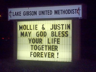 Mollie McP wedding 2008