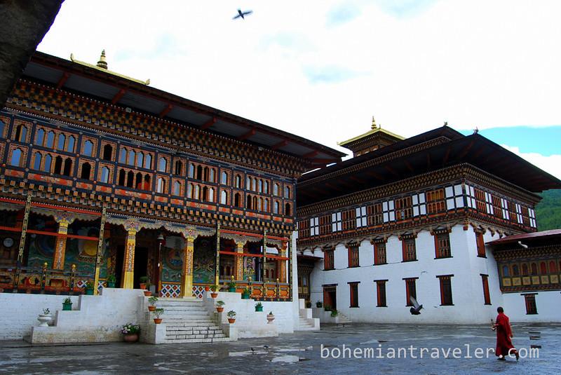 Tashichho Dzong in Thimphu Bhutan (10).jpg