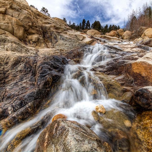 Falls at Alluvial Fan