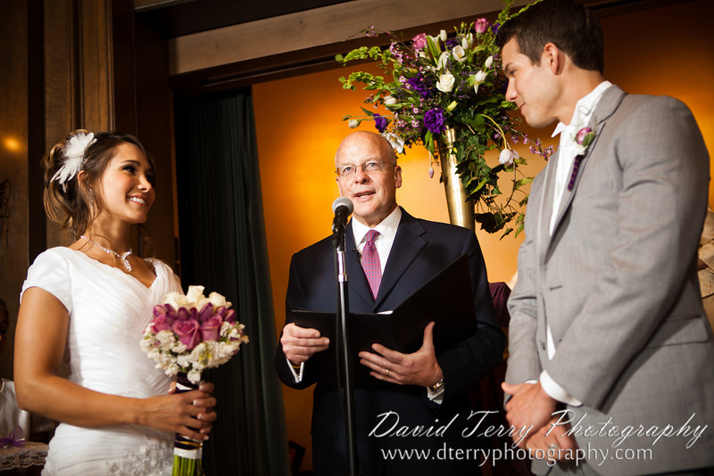 David Terry Photography - David and Miriam Reception at Joseph Smith Memorial Building