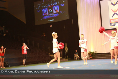 Worlds 2013 - Team Canada All Girl L5