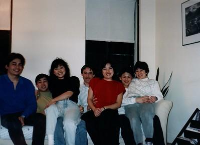 Med School friends visiting Boston 1991
