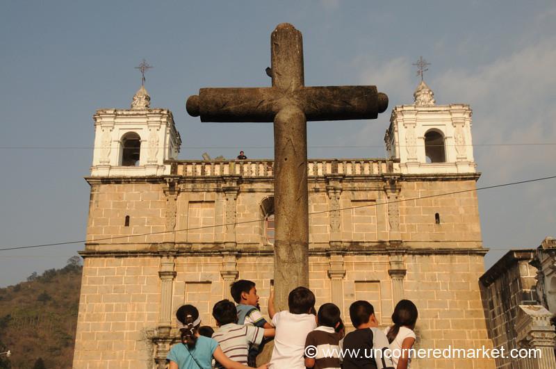 Escuela de Cristo, Semana Santa - Antigua, Guatemala