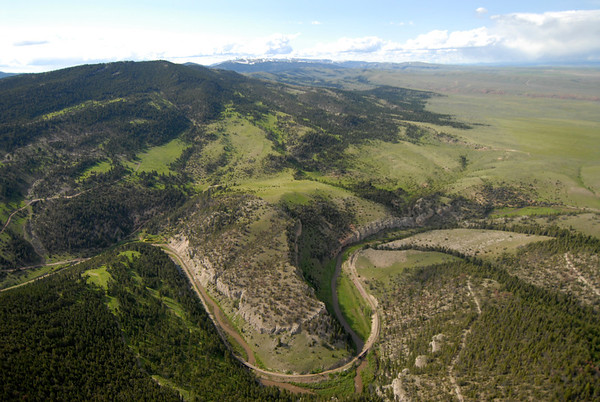 Wall Mountain Ranch Aerial Photos, Sixteen Montana