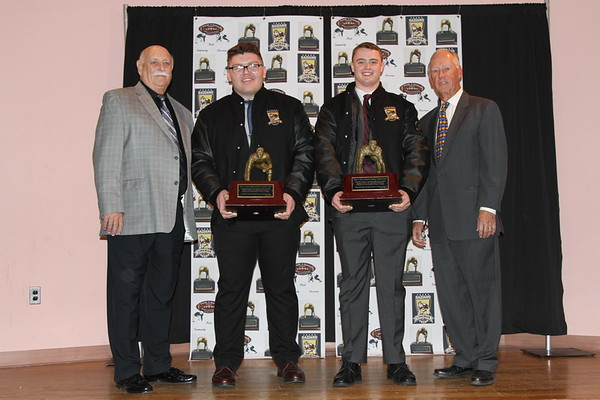 2019 FRANK J. GAZIANO FOOTBALL LINEMAN AWARDS  PRESENTED 1-25-20