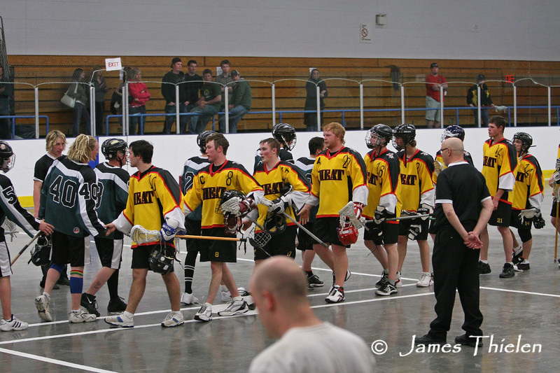 High River Heat vs Okotoks Icemen May 02, 2008