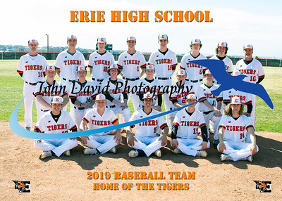 2019 EHS Baseball Team Pictures