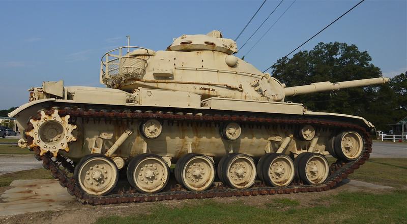 B/1-263 Armor, SCANG Armory - Dillon, SC - M60A3