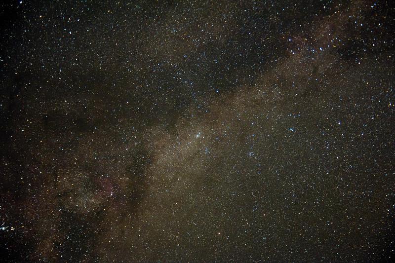Milky Way - 20/4/2017 (Processed Single Test Image)