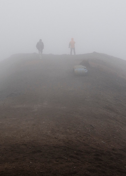 very little visibility at 15,560 feet