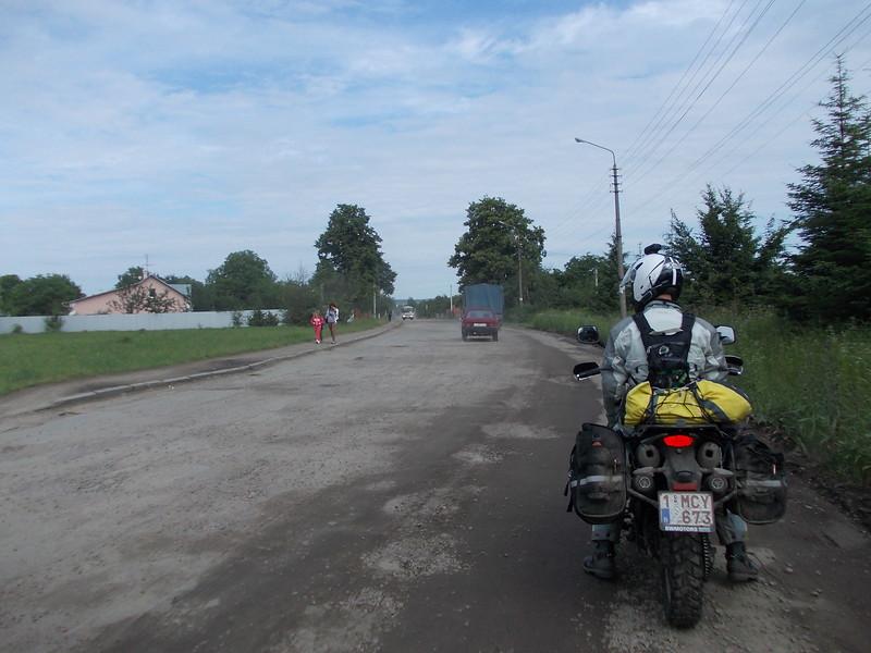 Main road out of Sambir