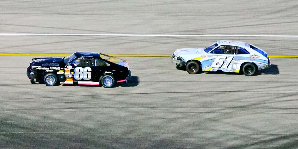 . Opening night of racing at Irwindale Speedway Saturday April 6, 2013. (Correspondent photo by Chris Burt)