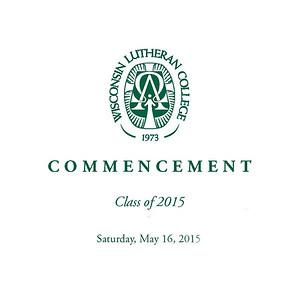 WLC Commencement 2015 Info