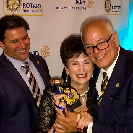 Rotary Club Downtown Boca Raton - Installation of President Penny Morey - June 23, 2017, 6:30pm