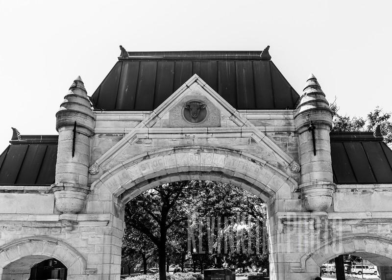 Union Stockyards Gate