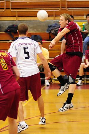 TP Mens V Volleyball vs LCC, April 29, 09