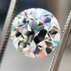 3.83ct Old European Cut Diamond, GIA K SI1 2