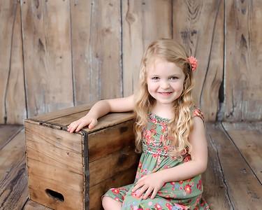 Lily W.  age 4