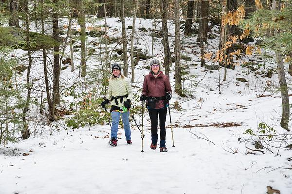 Hiking at Pisgah State Park - 011521