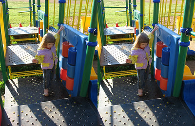2009-06-15, Olya in Solnechnogorsk (3D Stereo, parallel view)