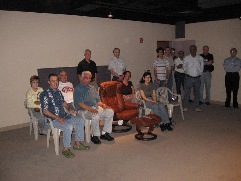 HAS members at the meeting.